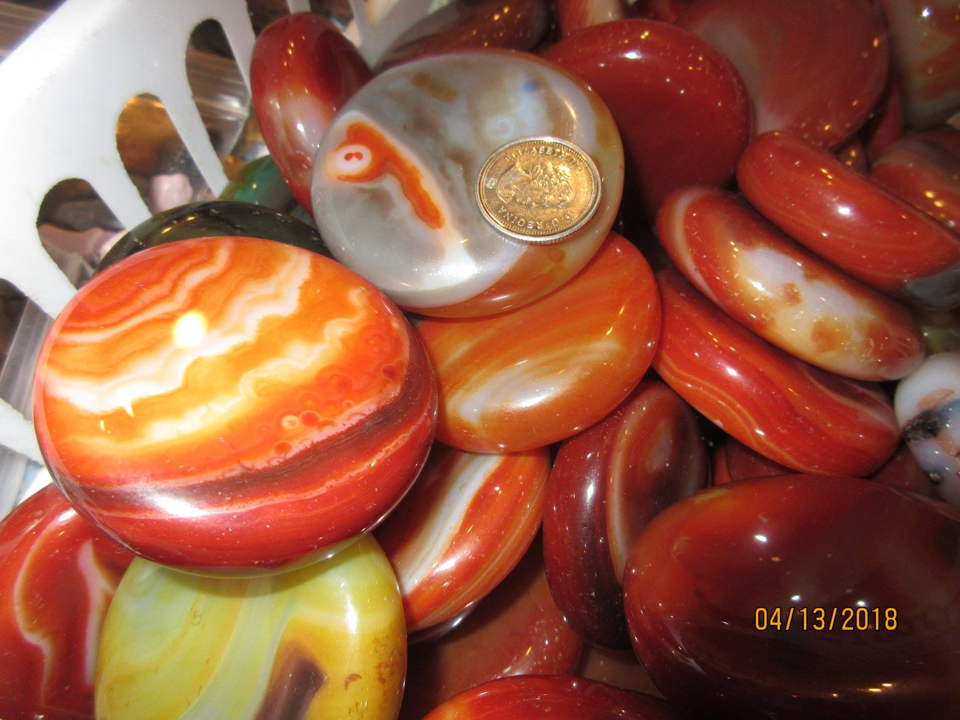 Carved and Polished Rock